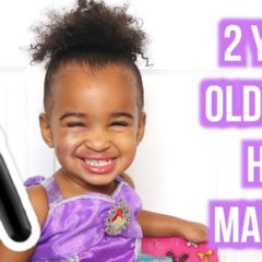 2 YEAR OLD DOES HER MAKEUP 6