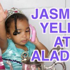 [VIDEO] PRINCESS JASMINE YELLS AT ALADDIN 😡 7
