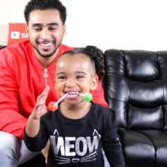 INTERVIEW WITH A 2 YEAR OLD (DADDY & DAUGHTER) 10