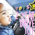2 YEAR OLD DRIVES TO TOYS R' US 9