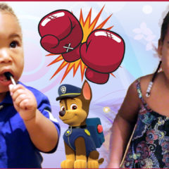BABY GETS INTO FIGHT AT A PAW PATROL PARTY 6