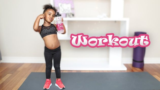 KIDS WORKOUT ROUTINE WITH SAMIA 1