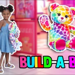 MY FIRST BUILD-A-BEAR WORKSHOP! ? 3