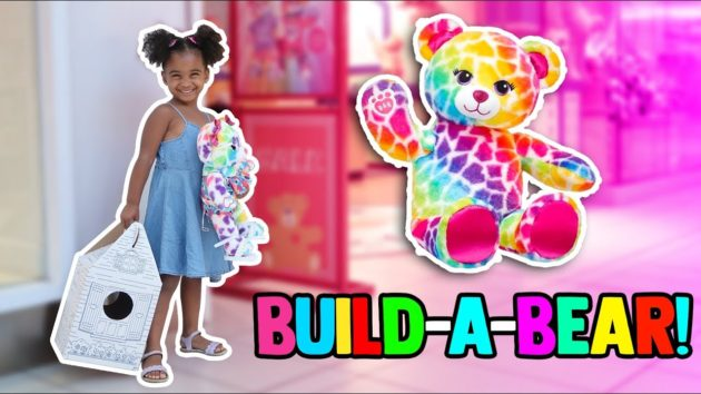 MY FIRST BUILD-A-BEAR WORKSHOP! ? 1