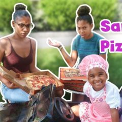 SAMIA'S PRETEND PIZZA DELIVERY 6