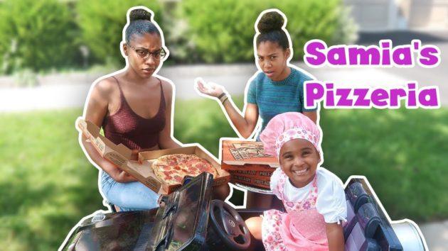 SAMIA'S PRETEND PIZZA DELIVERY 1