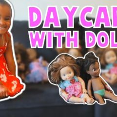 SAMIA'S PRETEND PLAY DAYCARE WITH BABY DOLLS 10