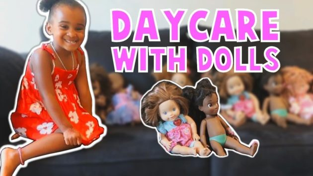 SAMIA'S PRETEND PLAY DAYCARE WITH BABY DOLLS 1