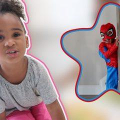 SAMIA COOKS FOR BABY SPIDERMAN 1