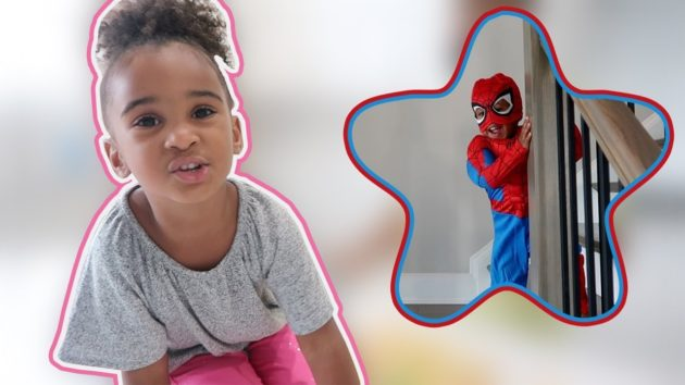 SAMIA COOKS FOR BABY SPIDERMAN 1