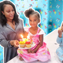 SAMIA'S 4TH BIRTHDAY VLOG🎂🎁 6