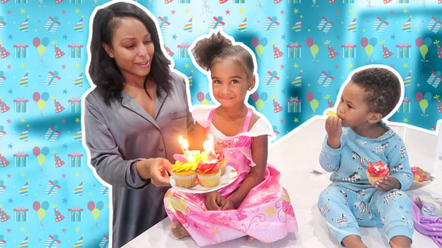 SAMIA'S 4TH BIRTHDAY VLOG🎂🎁 1