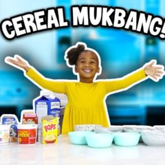 CEREAL MUKBANG (featuring my Mommy LaToyaForever) 5