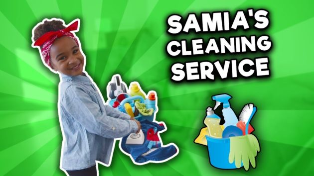 SAMIA PRETEND PLAY CLEANING SERVICE 1