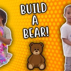 SAMIA AND ZAYN VISITS THE BUILD A BEAR WORKSHOP! 8
