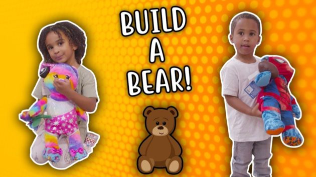 SAMIA AND ZAYN VISITS THE BUILD A BEAR WORKSHOP! 1