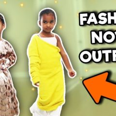 TODDLER TRIES MOMMY'S FASHION NOVA DRESSES 9