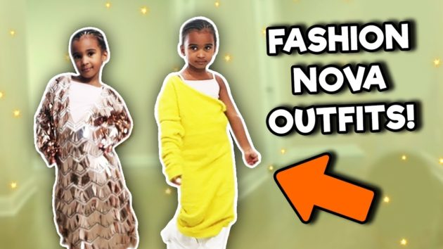 TODDLER TRIES MOMMY'S FASHION NOVA DRESSES 1