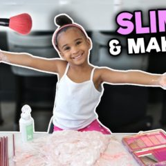 MIXING MAKEUP INTO SLIME 😜💄 8