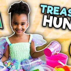 TREASURE HUNT CHALLENGE | INDOOR FUN GAME WITH SAMIA | KIDS PRIZE 10