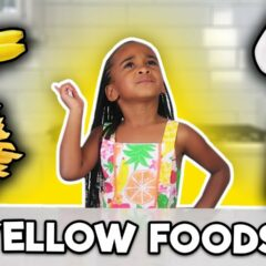 I ONLY ATE YELLOW FOOD FOR 24 HOURS CHALLENGE! 3