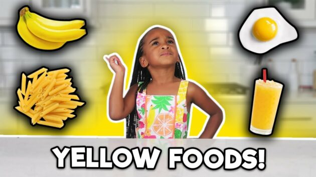 I ONLY ATE YELLOW FOOD FOR 24 HOURS CHALLENGE! 1