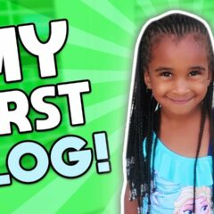 SAMIA'S FIRST VLOG + WATER PARK SLIDE 2