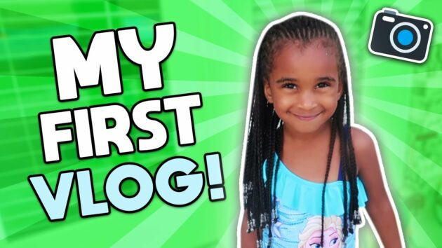SAMIA'S FIRST VLOG + WATER PARK SLIDE 1