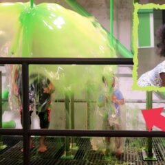MY FAMILY GOT SLIMED AT SLIME CITY! 1