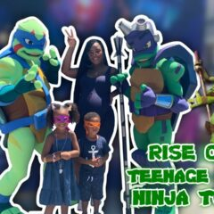 SAMIA GOES TO NICKELODEON RISE OF THE TMNT SEWER STUDIO TOUR 1