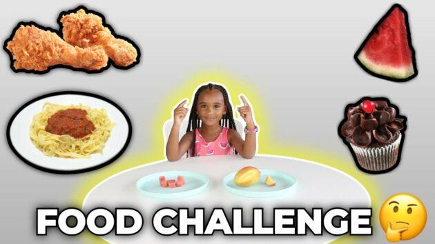 SAMIA'S FOOD CHALLENGE (YUMMY!) 1