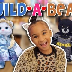 WE MADE A BATMAN AND FROZEN BUILD-A-BEAR 3