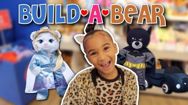 WE MADE A BATMAN AND FROZEN BUILD-A-BEAR 1