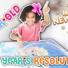 5-YEAR-OLD MAKES NEW YEAR RESOLUTIONS 2