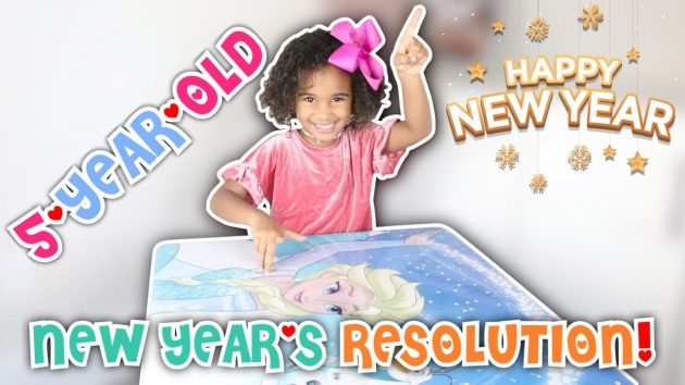 5-YEAR-OLD MAKES NEW YEAR RESOLUTIONS 1