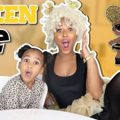 TRANSFORMING MY MOM INTO A LOL SURPRISE DOLL (QUEEN BEE) 2