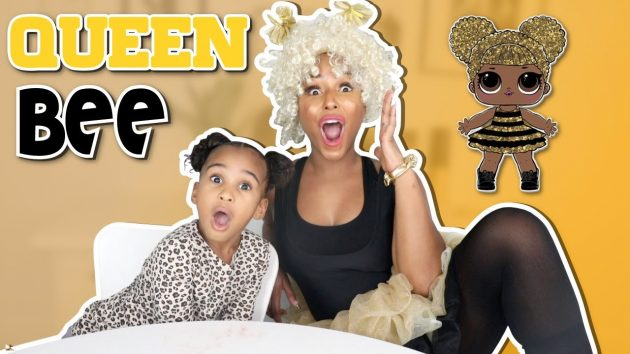 TRANSFORMING MY MOM INTO A LOL SURPRISE DOLL (QUEEN BEE) 1