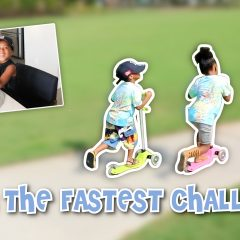 WHO'S THE FASTEST CHALLENGE? 🚀