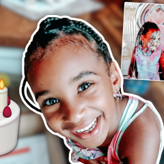 SAMIA TURNED 6 YEARS OLD!
