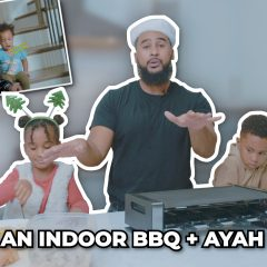 WE HAD AN INDOOR BBQ + AYAH UPDATE!