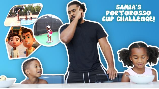 SAMIA'S Portorosso Cup Challenge! (Inspired by Disney Pixar's Luca Movie)